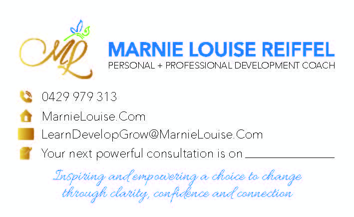 Marnie Louise Business Card