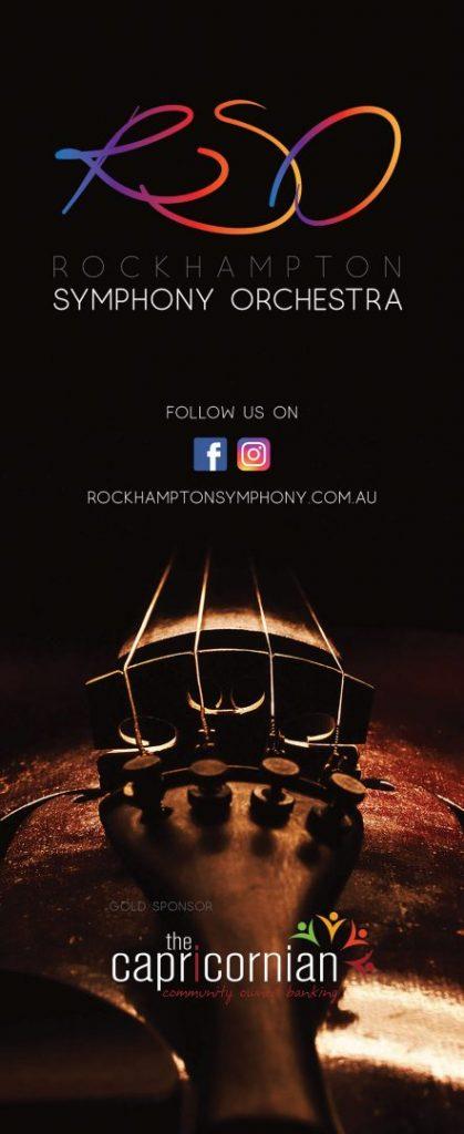 Rockhampton Symphony Orchestra Banner