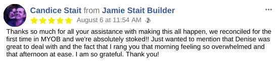 Small Business Bookkeeping Testimonial - Candice Stait