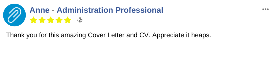 Resume Testimonial from an Administration Professional