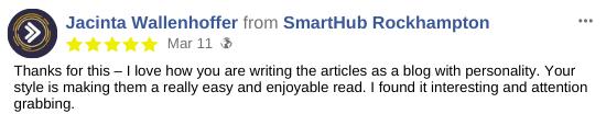 Blog Testimonial for SmartHub