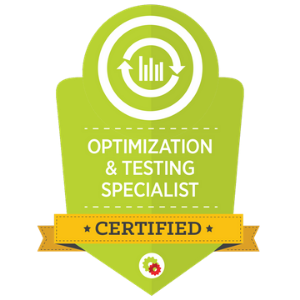 Optimisation & Testing Mastery Badge