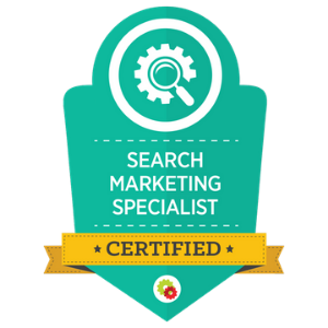 Search Marketing Mastery Badge