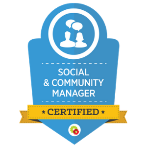 Social and Community Management Badge