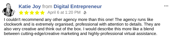 Creative Marketing Testimonial
