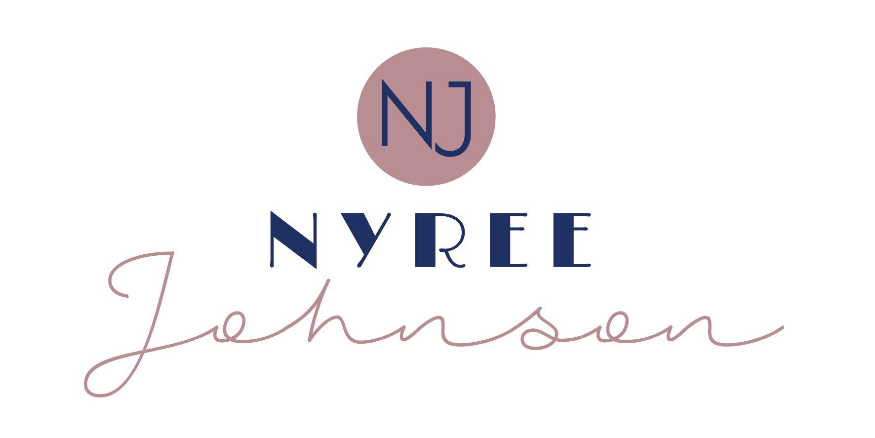 Small Business Graphic Design Services - Nyree Johnson Logo designed by ProfitAbility Virtual Assistance