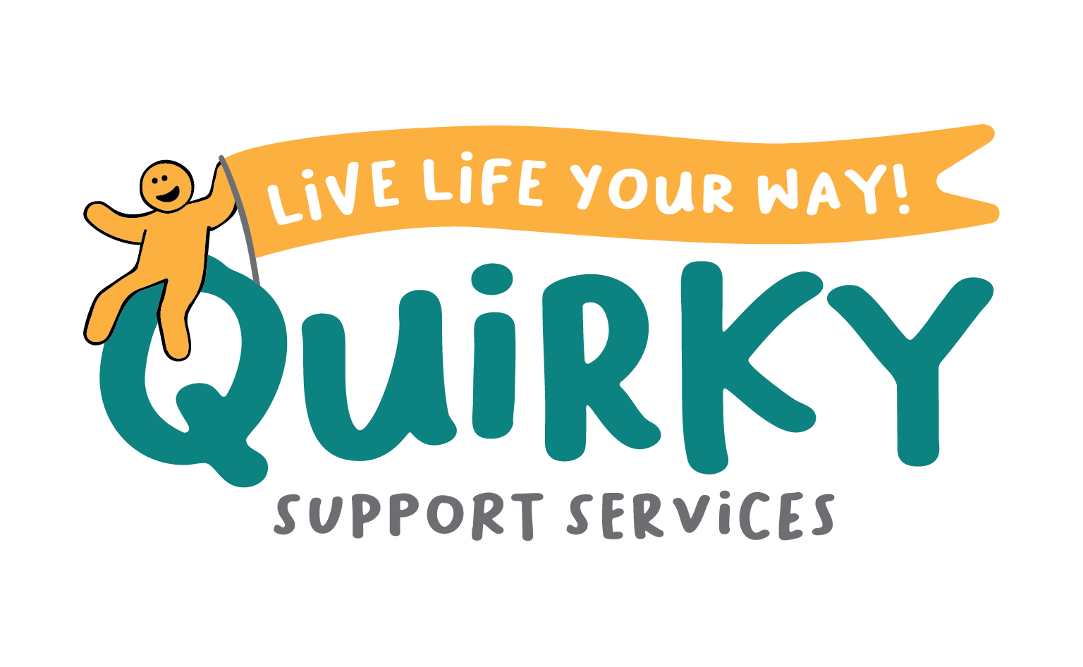 Small Business Graphic Design Services -Quirky Support Services Logo