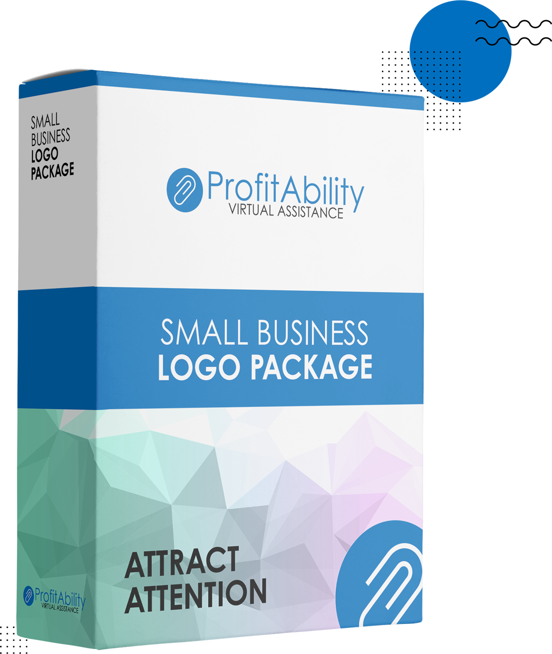 Attract Attention to your Small Business with a Logo Package from ProfitAbility Virtual Assistance