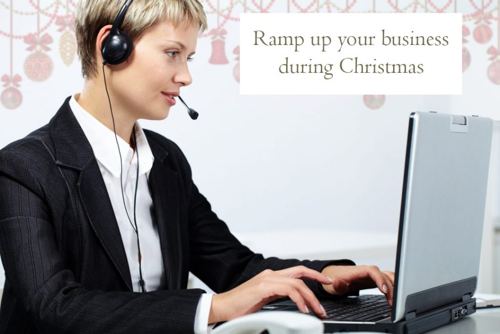 Ramp up your business during christmas