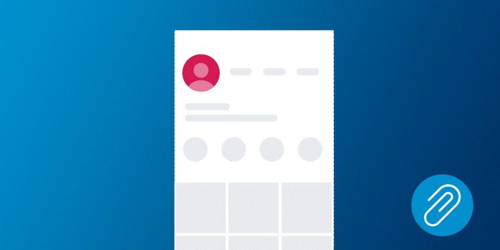 Instagram profile image size