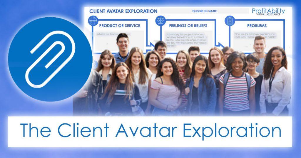 client avatar exploration - profitAbility Virtual Assistance